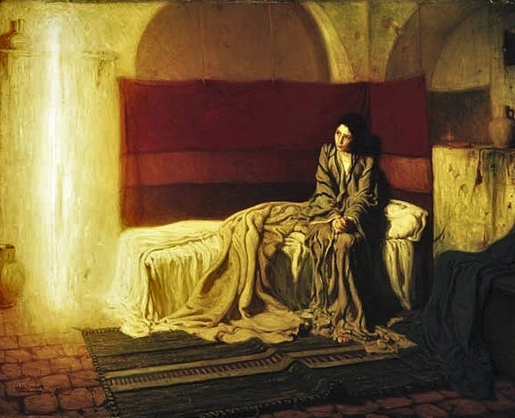 Henry Ossawa Tanner's The Annunciation