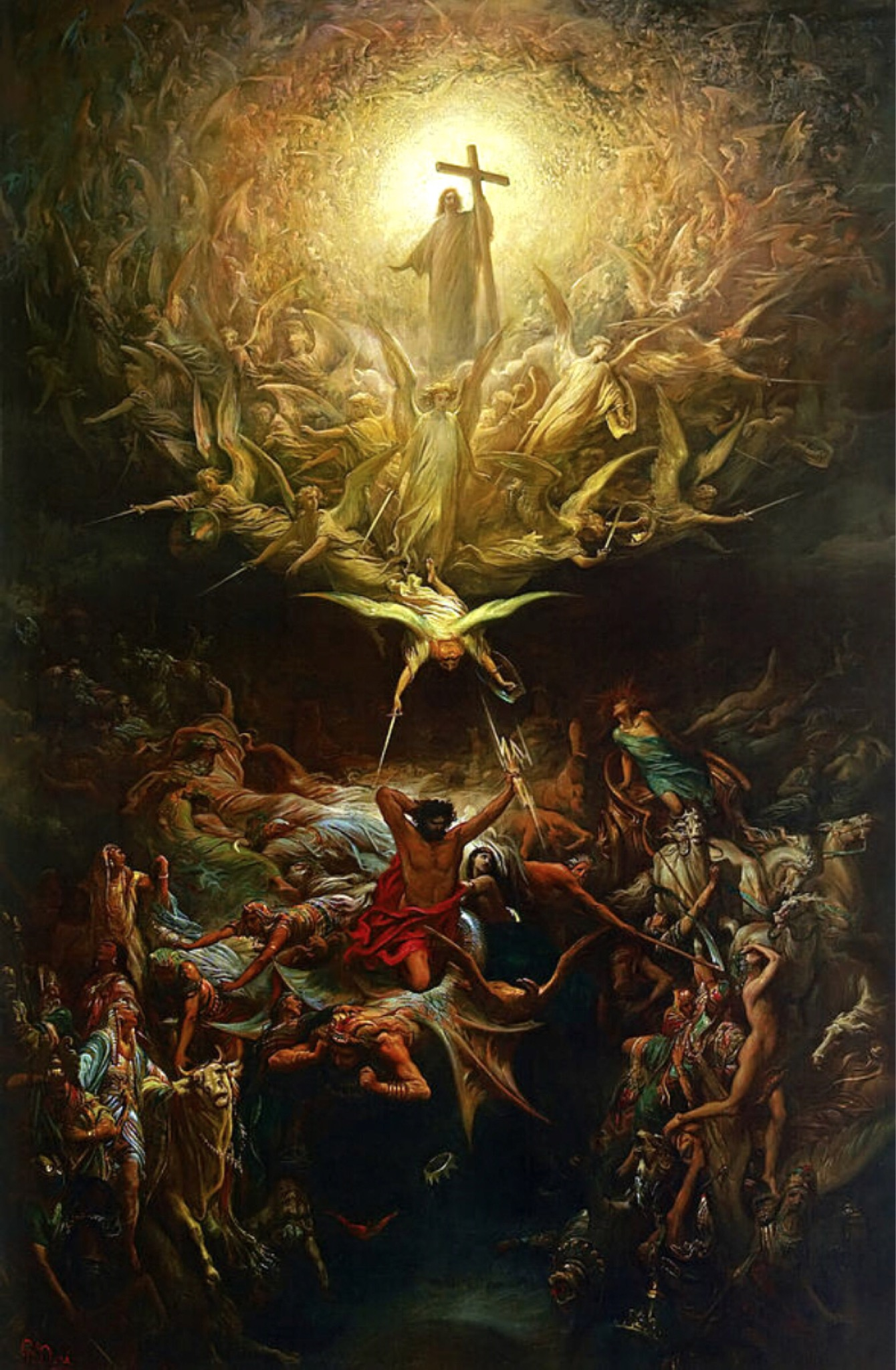 Image result for triumph of christianity over paganism