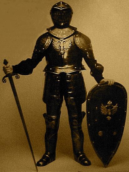 armor knight. form a spiritual armor.